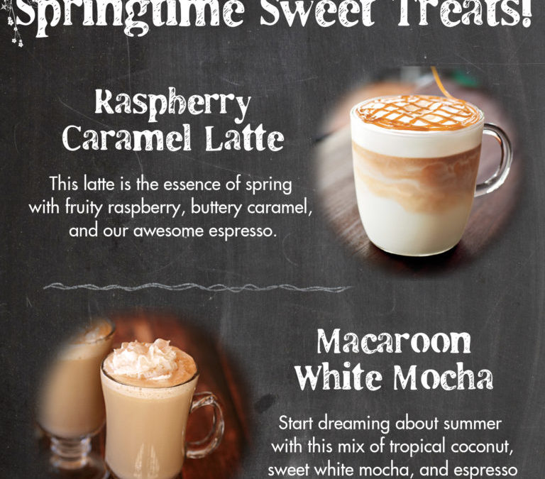 Chat about hope over new spring drinks!