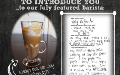 JULY COFFEE HOUSE SPECIAL – AFFOGATO