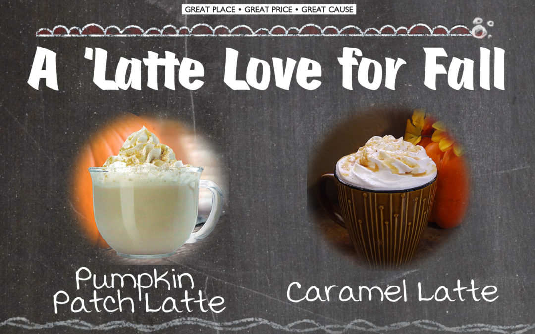 New Fall Drinks at Step One Coffee House