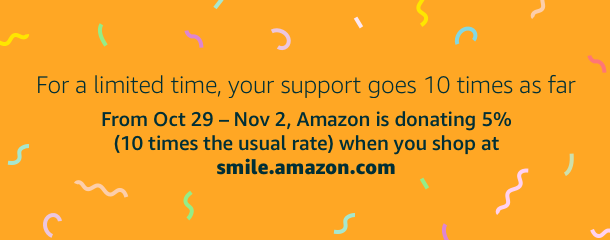 AmazonSmile Donation Boost