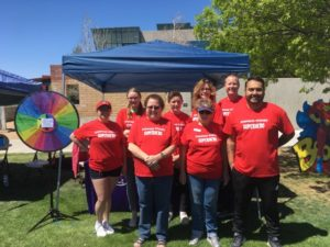 Stepping Stones Volunteers at event