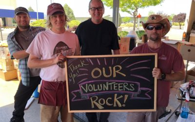 A Special Note of Gratitude to our Volunteers