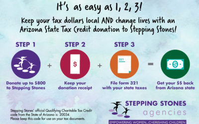 Begin the new year off with a Tax Credit Donation