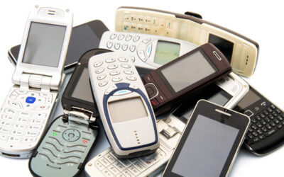 Saying goodbye to our cell phone and ink cartridge recycling program