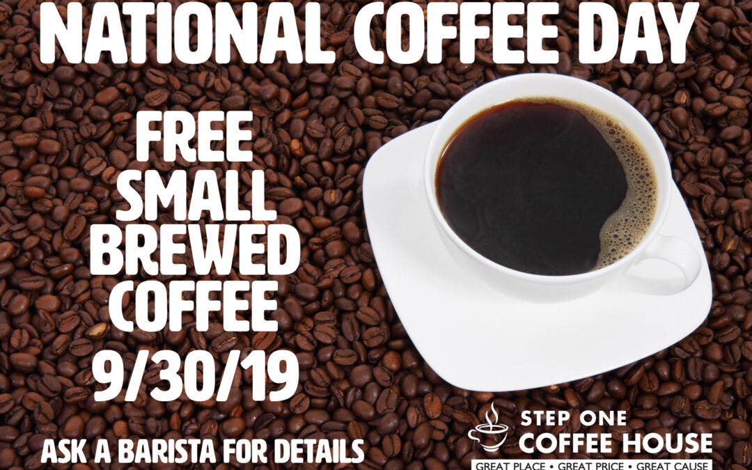 National Coffee Day is coming!