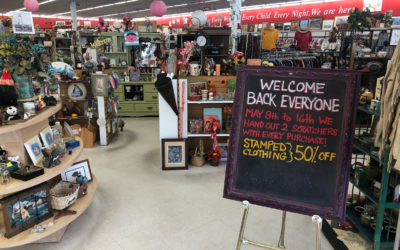 Thank you – Thrift Stores and Services Open