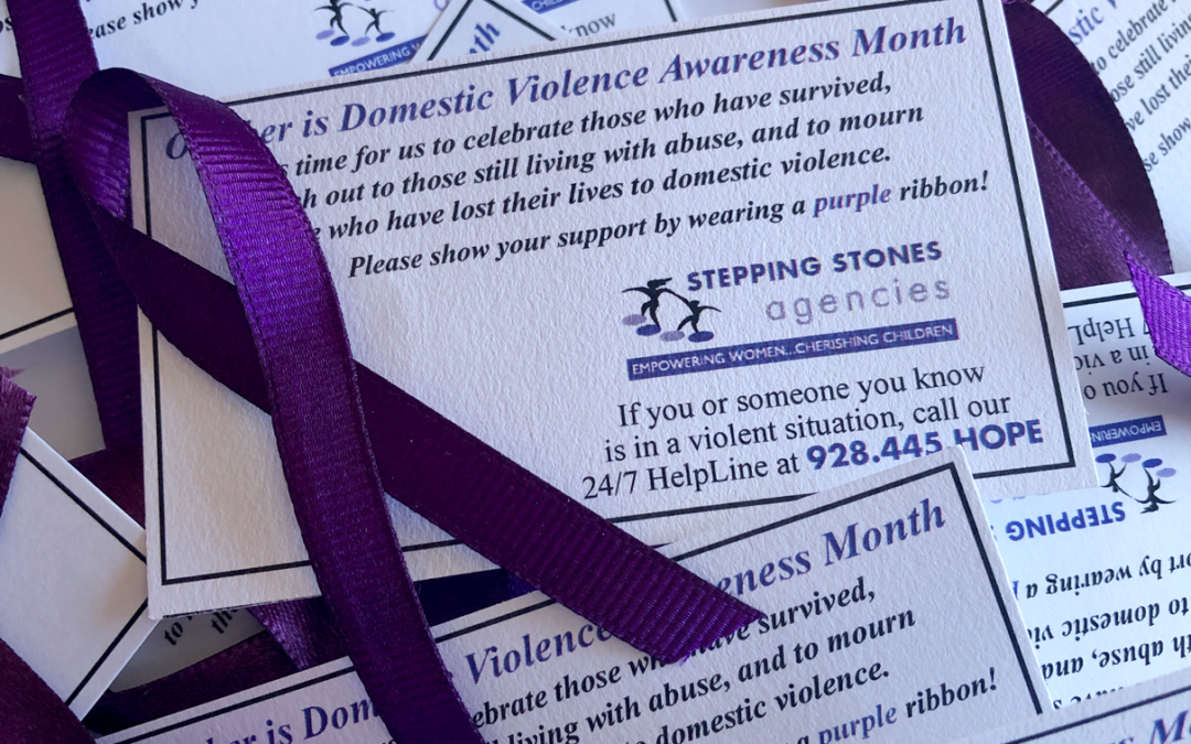 Wear your Purple Ribbon All Month!