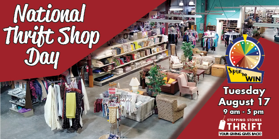 National Thrift Shop Day is Coming – Aug 17